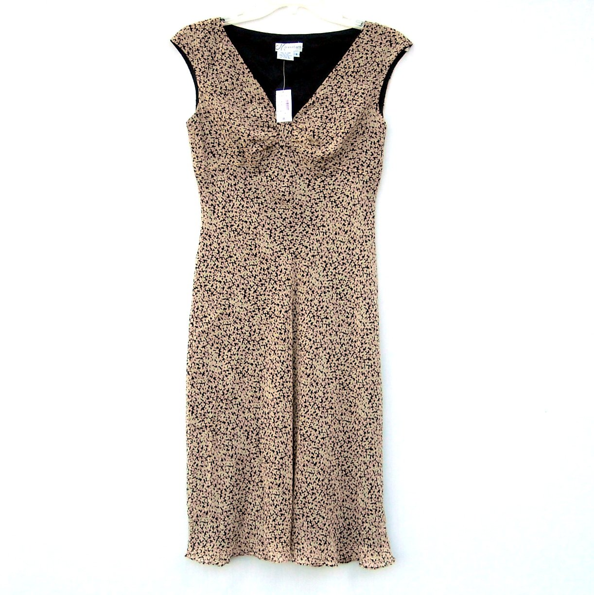 Dressbarn Misses Sleeveless Dress Size 8 NWT