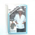 Misses Unlined Jackets Size 10 - 14 Simplicity Sewing Pattern 6318