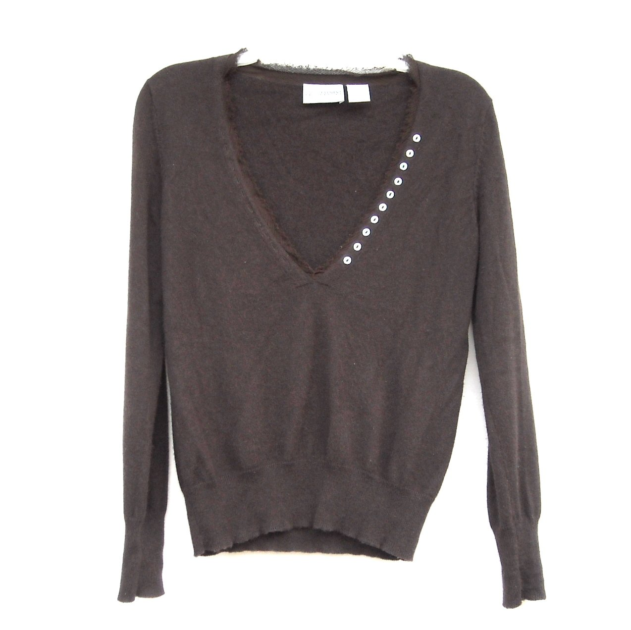 Laura Clement Misses Dark Brown Sweater Size US 6 - 8