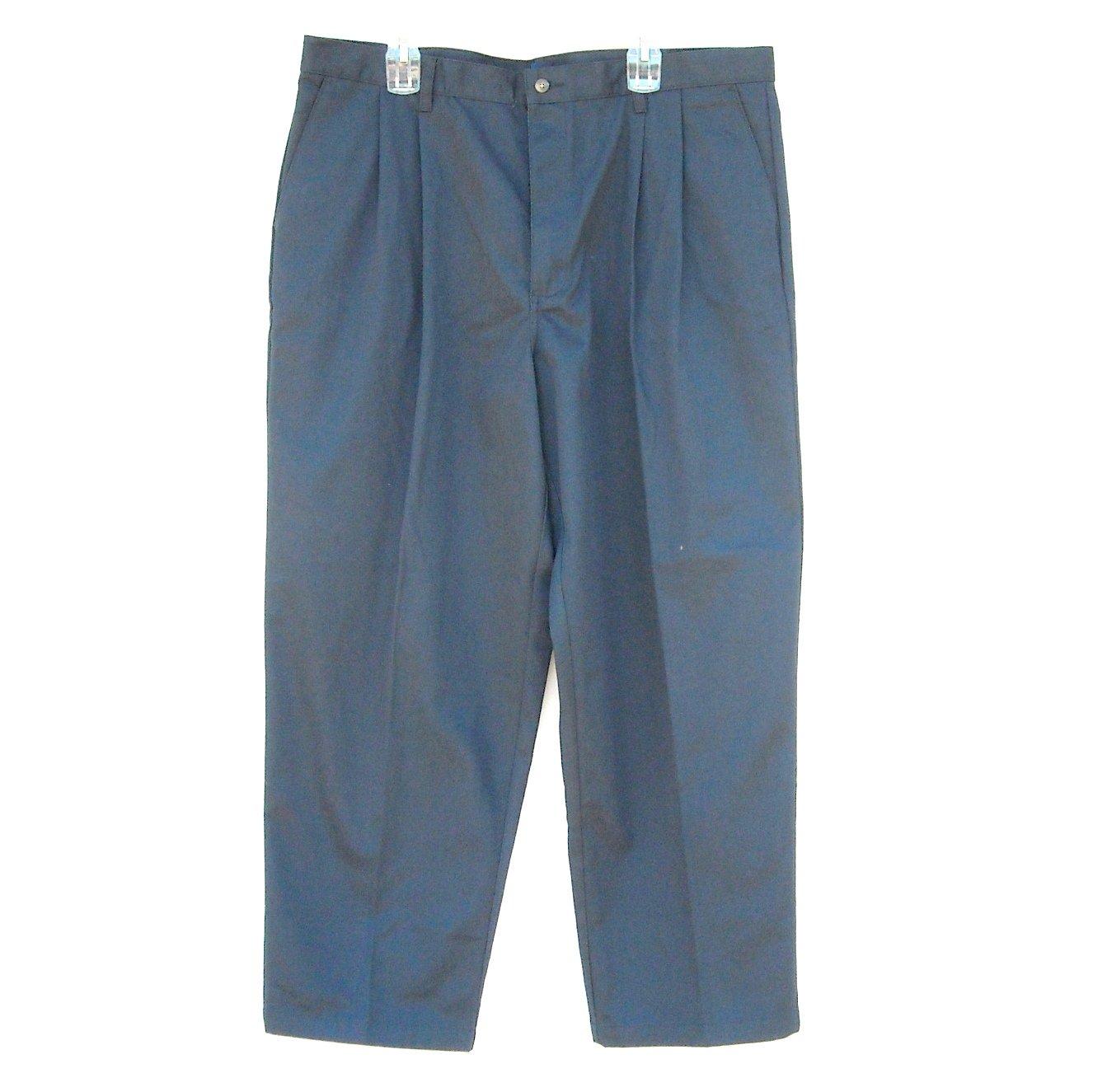 Basic Editions Navy Dark Blue Pants size 42 X 30
