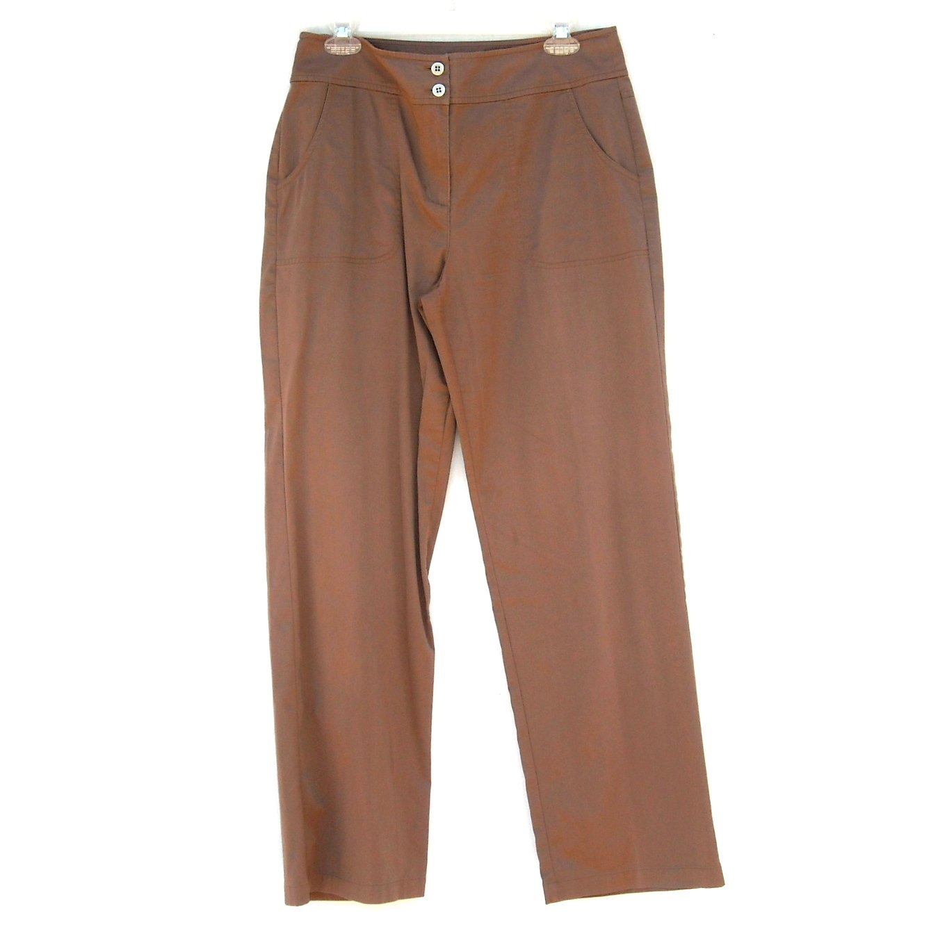 Chicos Misses Brown Casual Pants Size 1.5