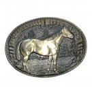Quarter Horse Tony Lama Solid Brass Belt Buckle