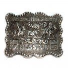 Hesston 1987 Professional Rodeo Cowboys Belt Buckle