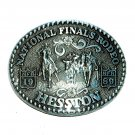 NFR Hesston 1989 Professional Rodeo Cowboys Belt Buckle