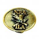 NRA ILA Great American Standard Brass Belt Buckle