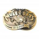 Mule Days Bishop California 1993 Bronze 3D No 1514 Belt Buckle