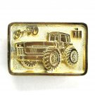International Harvester Case Super 70 Nashville Edition Gold Color Belt Buckle