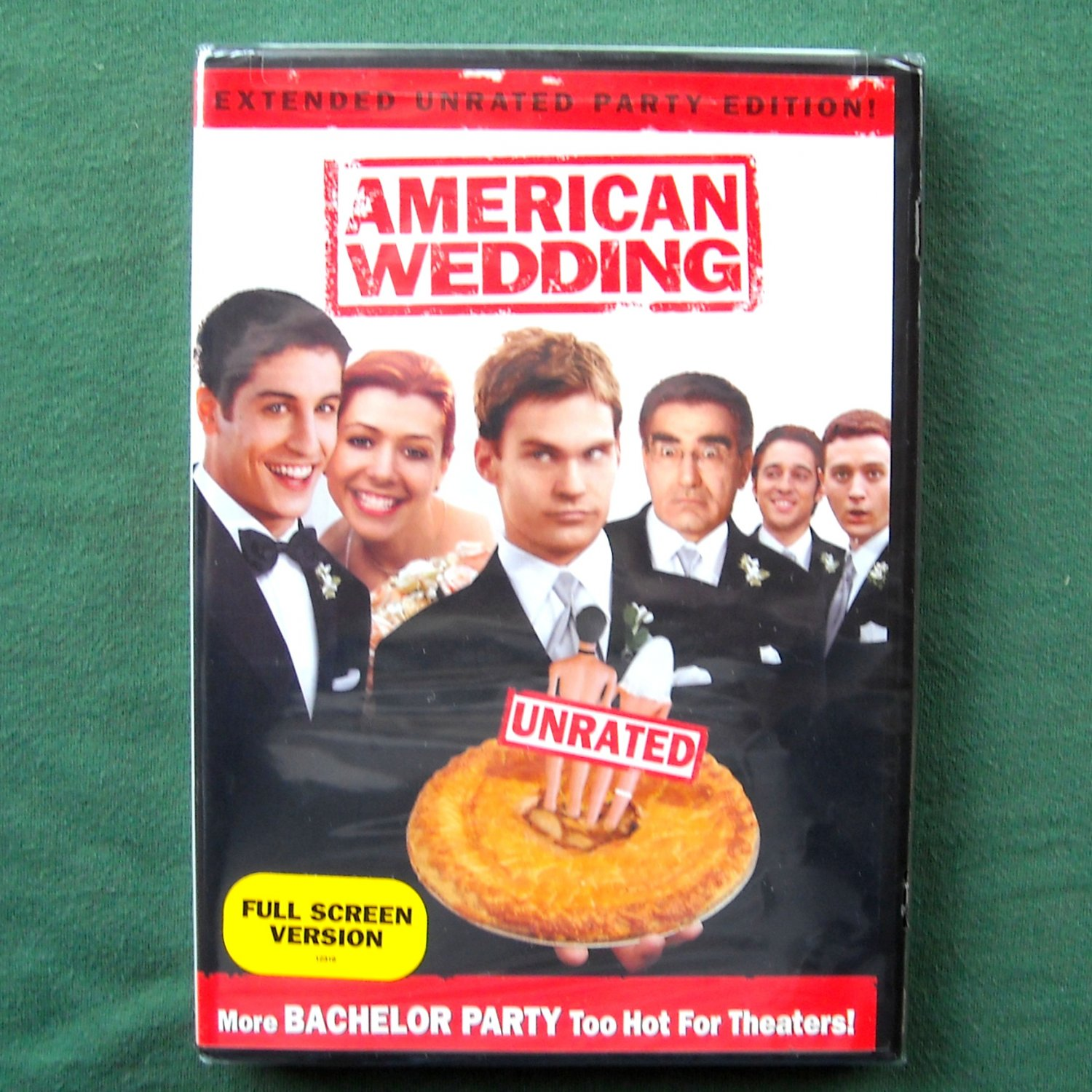 American Wedding unrated DVD