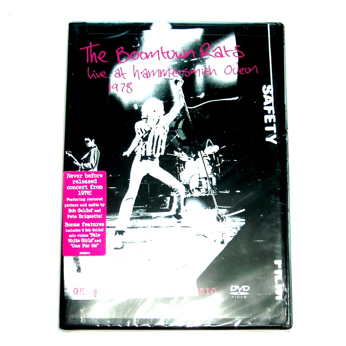 Boomtown Rats Live at Hammersmith Odeon 1978 DVD