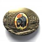 Bear Artistic Impressions Montana Julie Zsupnik Belt Buckle