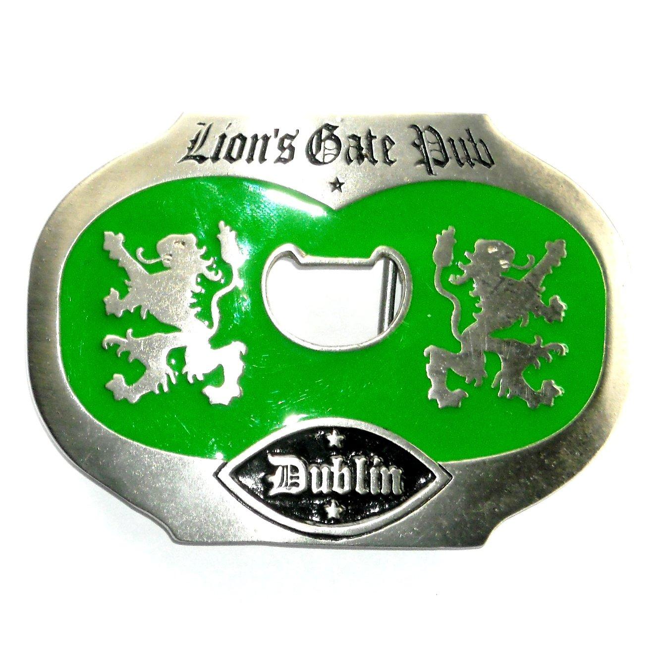 Lions Gate Pub Dublin Vintage Belt Buckle