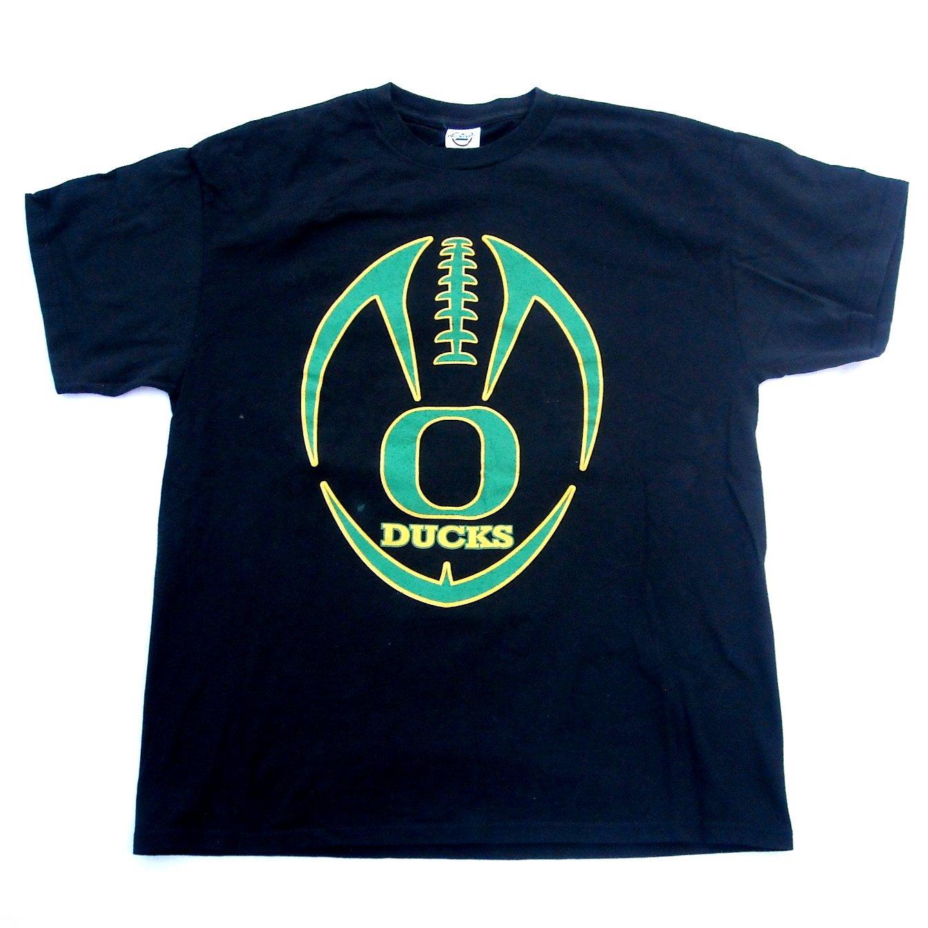 Oregon Ducks Football Delta Pro Weight T Shirt Top Size L