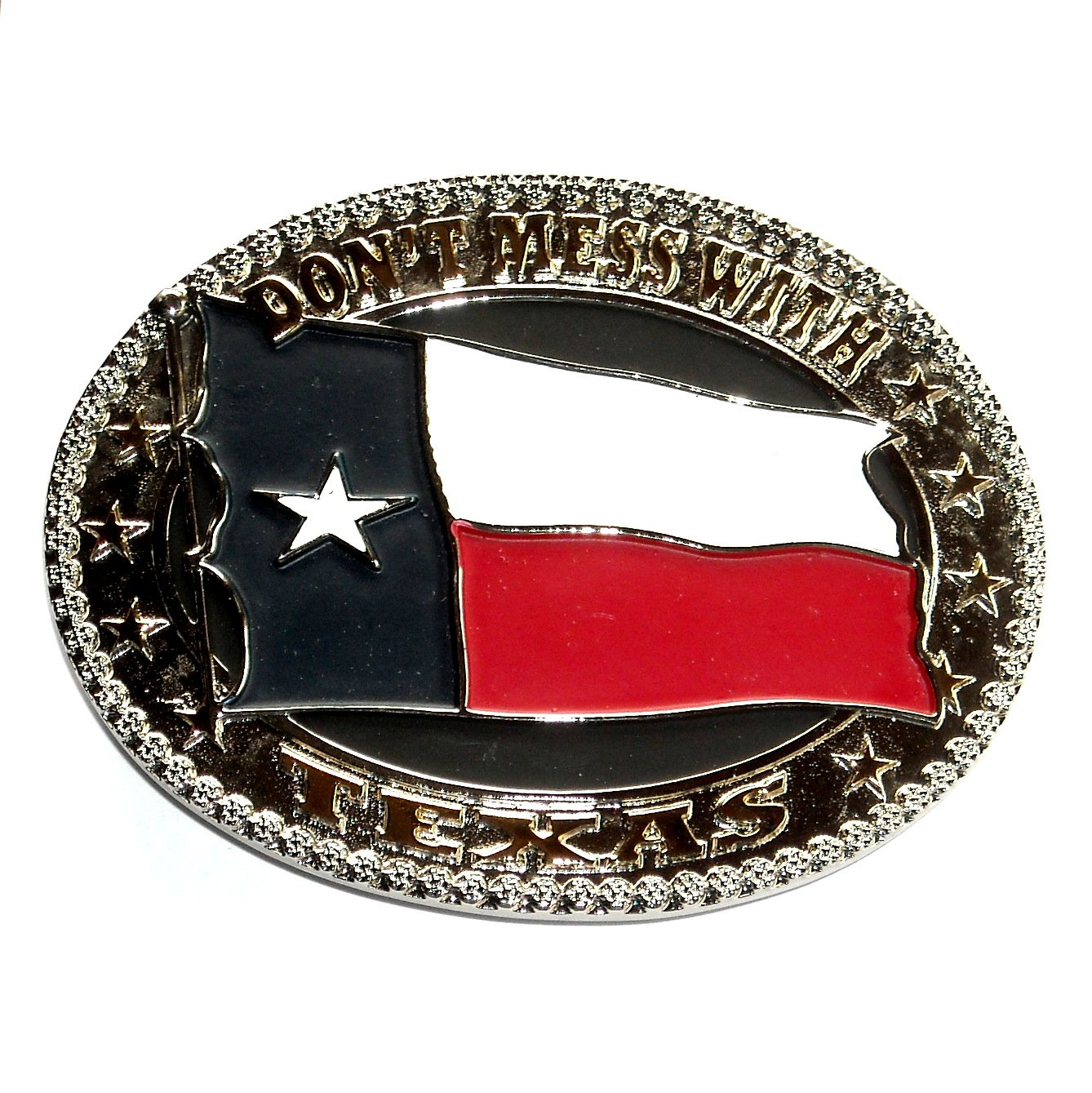 Dont Mess With Texas Montana Silversmiths Belt Buckle