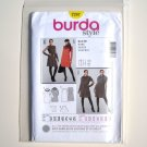 Misses Slightly Flared Dress Burda Style Sewing Pattern 7287