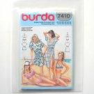Misses Bikini Swimsuit Cover Burda Sewing Pattern 7410
