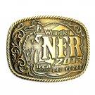 NFR Las Vegas Wrangler Rodeo 2013 Montana Silversmiths Western Belt Buckle