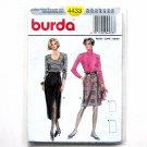 Misses Skirt Burda Sewing Pattern 4433