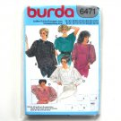 Misses Top Burda Sewing Pattern 6471
