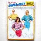 Misses Super Easy Top Burda Sewing Pattern 6522