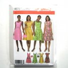 Misses Dress 14 16 18 20 Simplicity Sewing Pattern 4675