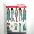 Misses Dress Top Skirt Pants Jacket 14 16 18 20 Simplicity Sewing Pattern 4638