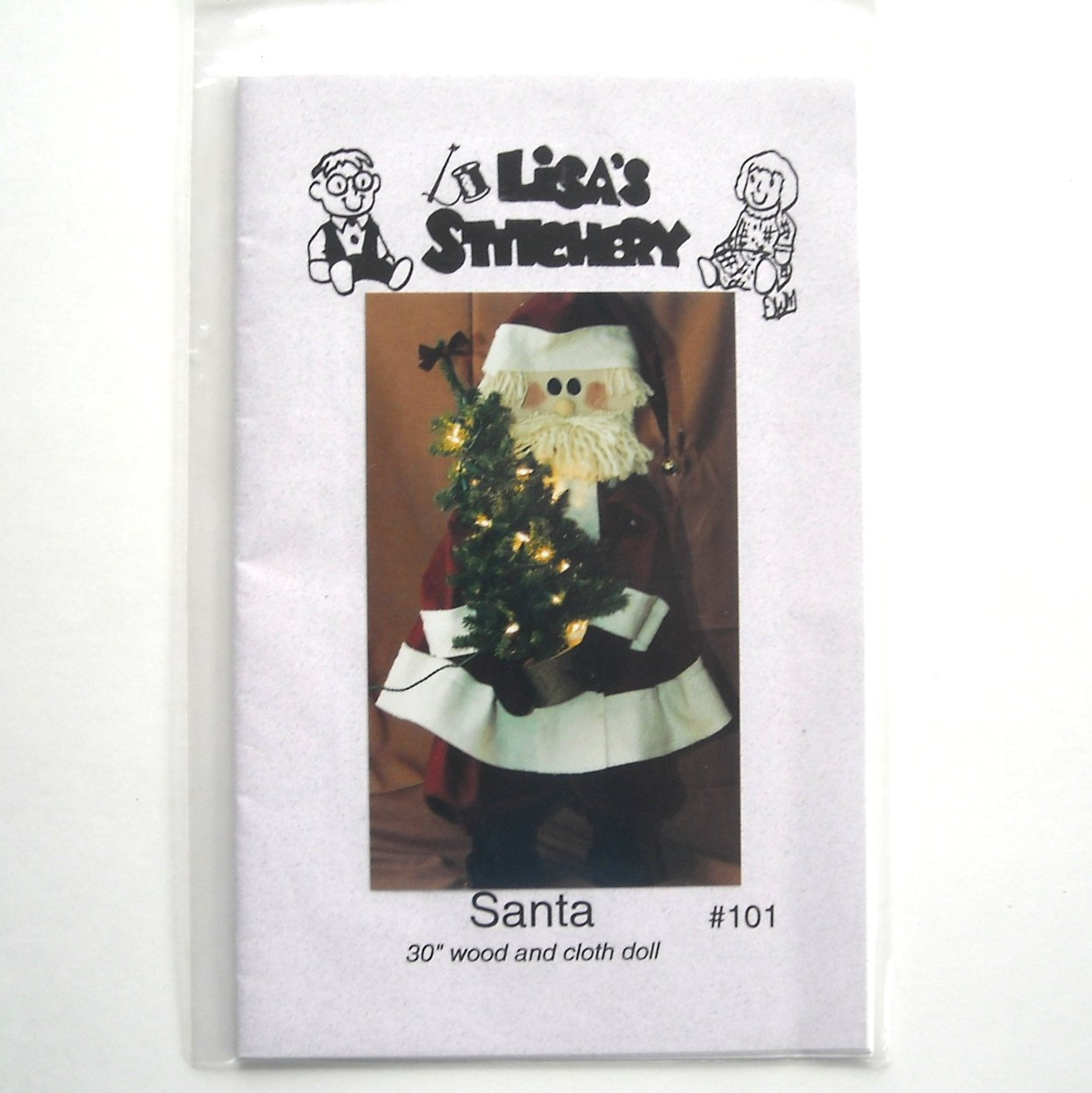 Santa Lisas Stitchery Design Craft Pattern