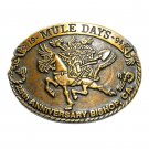 1994 Mule Days Bishop California Bronze No 0200 Belt Buckle