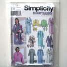 Misses Women Robes Design Your Own XS S M Simplicity Sewing Pattern 5778