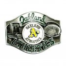 Oakland Athletics Vintage 1988 Siskiyou Pewter Belt Buckle