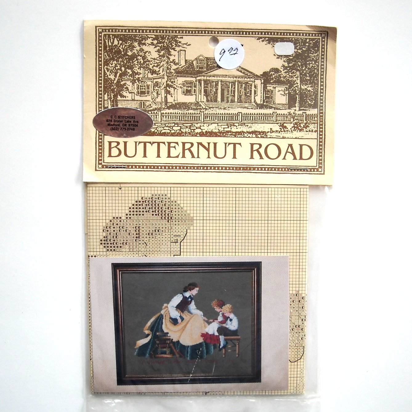 Butternut Road The Teacher Counted Cross Stitch Pattern