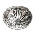 Bob Marley Zion Rootswear Pewter Belt Buckle