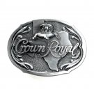 Crown Royal Texas Great American Solid Pewter Belt Buckle
