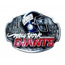 New York Giants NFL Vintage 1988 Siskiyou Pewter Belt Buckle