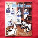 Vintage The Needlecraft Shop Crochet Kitchen Cows Pattern