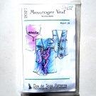 Misses Messenger Vest Vintage Dos de Tejas Sewing Pattern 2027
