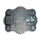 Professional Rodeo Cowboys Montana Silversmiths 2003 Belt Buckle