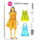 Girls Dresses McCalls Sewing Pattern M6307