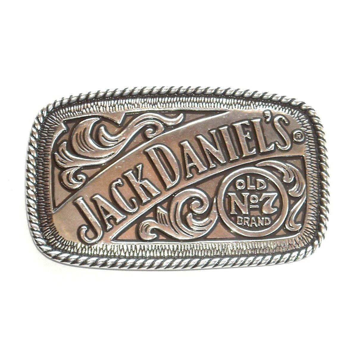 Jack Daniels Old No 7 Whisky Whiskey Belt Buckle