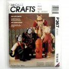 Vintage The Cat's Meow Tom Allie Cat 1992 McCalls Crafts Sewing Pattern P367