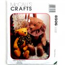 Little City Bears & Co 1996 Vintage McCalls Crafts Sewing Pattern 8506
