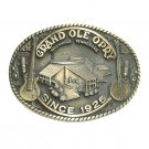 Vintage Grand Ole Opry Nashville ADM Solid Brass US Belt Buckle
