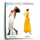 Misses Dress Size 12 Uncut Calvin Klein Vintage Vogue Sewing Pattern 1665