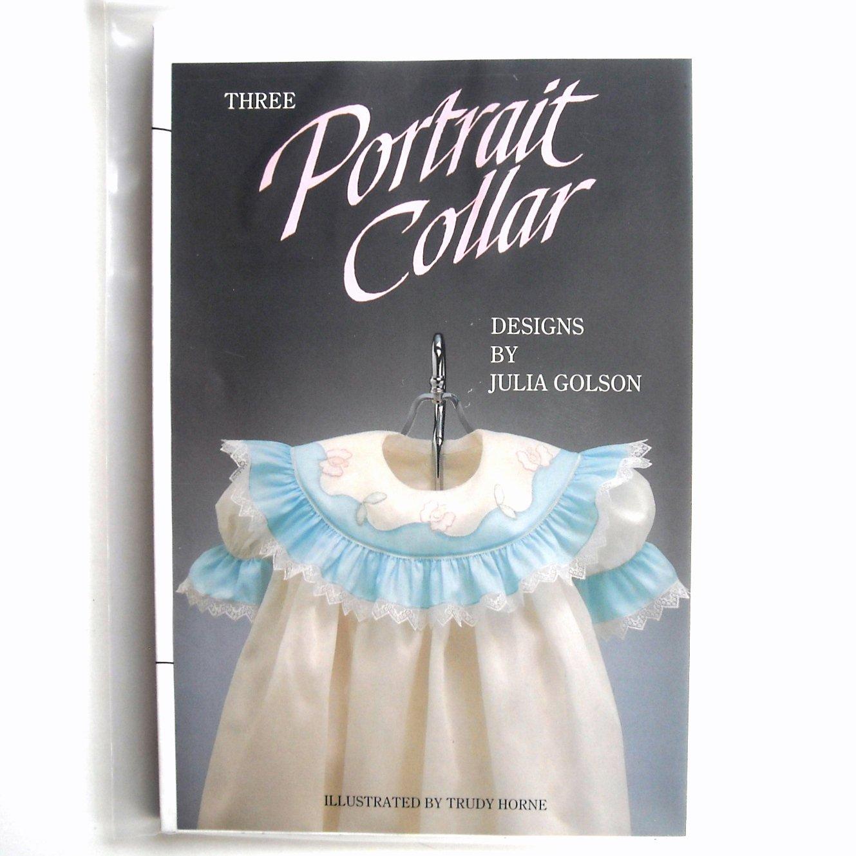 Three Portrait Collar Designs By Julia Golson Craft Pattern