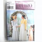 Misses Retro Costumes 12 14 16 18 Andrea Schewe Simplicity Sewing Pattern 9221