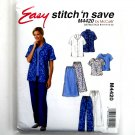 Scrubs Shirt Top Skirt Pants 14 - 20 Easy McCalls Sewing Pattern M4420