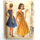 Misses' Smocked Dress Size 16 Vintage McCall's Sewing Pattern 6614