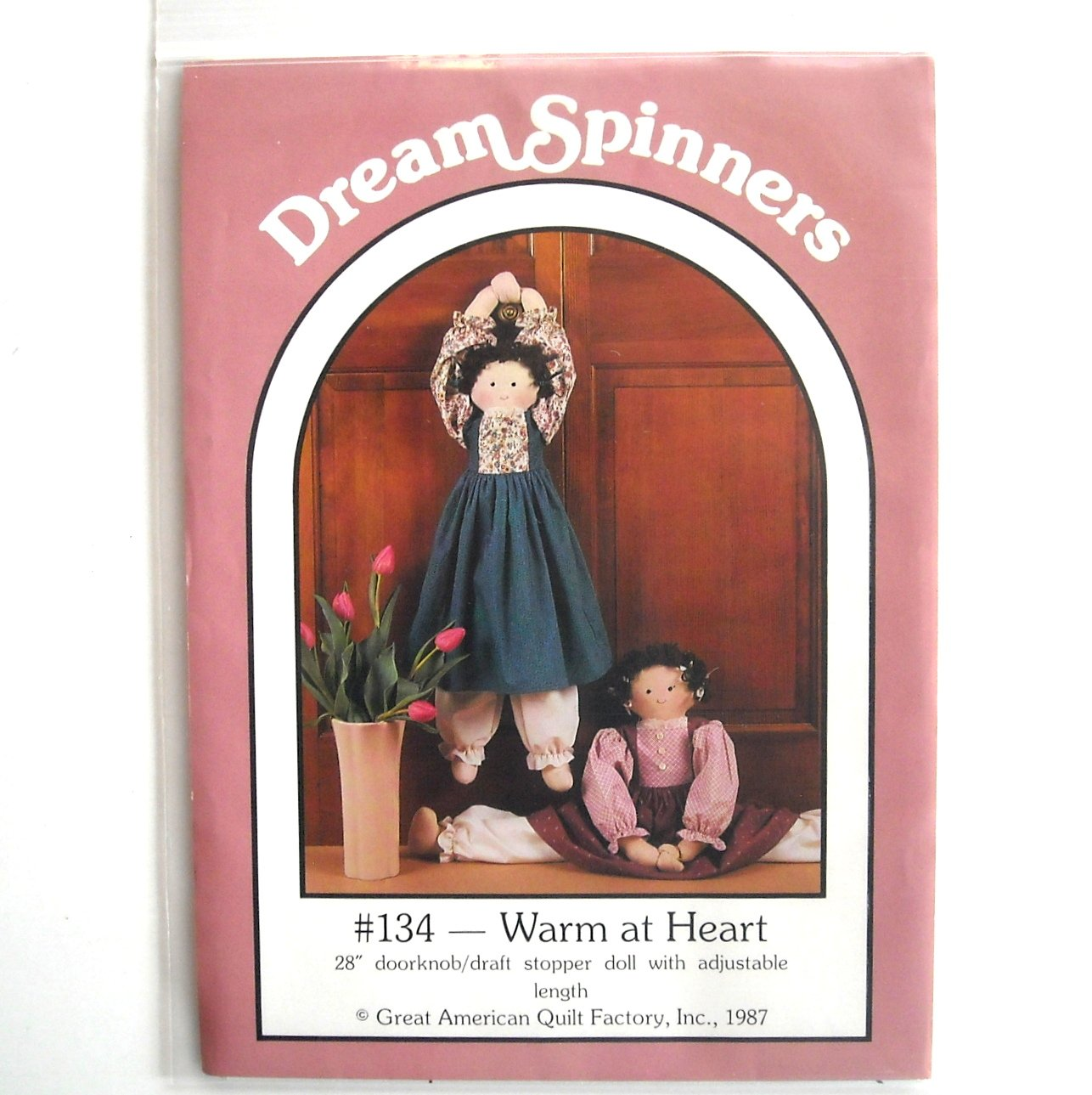 Dream Spinners # 134 Warm At Heart 1987 Pattern