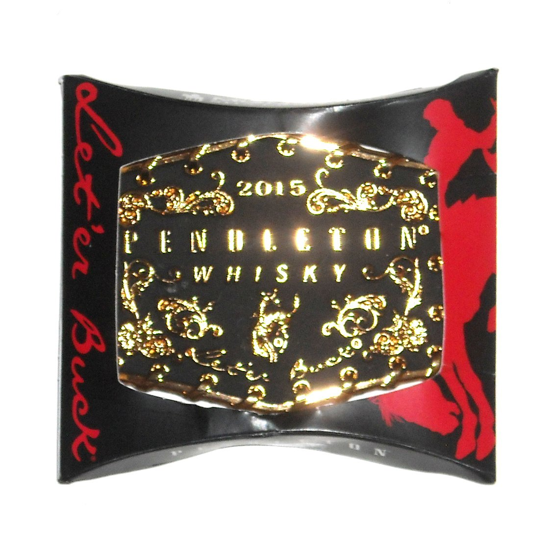 2015 Pendleton Whisky Round Up Rodeo Montana Silversmiths Belt Buckle