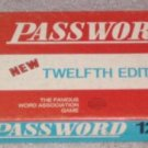 PASSWORD MILTON BRADLEY GAME 4260 from 1962