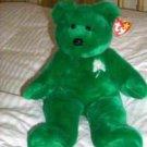 Ty Beanie Buddy Erin the Irish Bear Mint condition